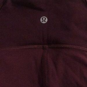 lululemon athletica Shorts - Like new, lululemon maroon  shorts